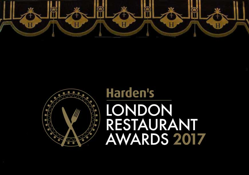 Harden's London Restaurant Award 2017 Halal