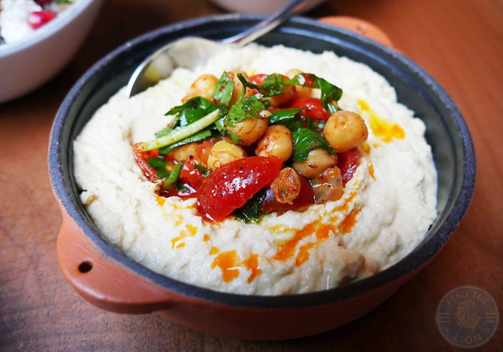Laz Camden Halal Restaurant Turkish meze hummus