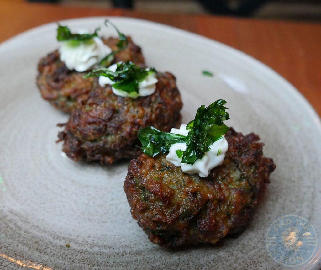 Laz Camden Halal Restaurant Turkish Meze Courgette