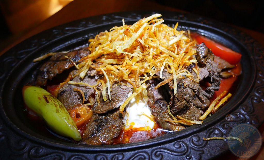 Laz Camden Halal Restaurant Turkish Meat Beef House Special