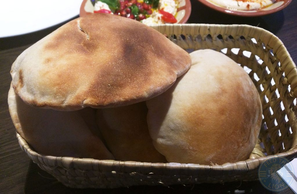 bread Nanerj Damascene Cuisine Edgware Road London Halal Restaurant