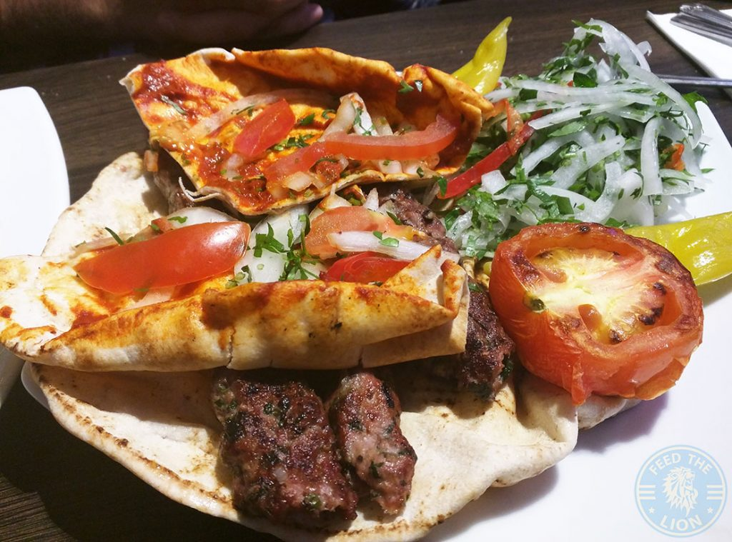 Kafta Meshwi Nanerj Damascene Cuisine Edgware Road London Halal Restaurant