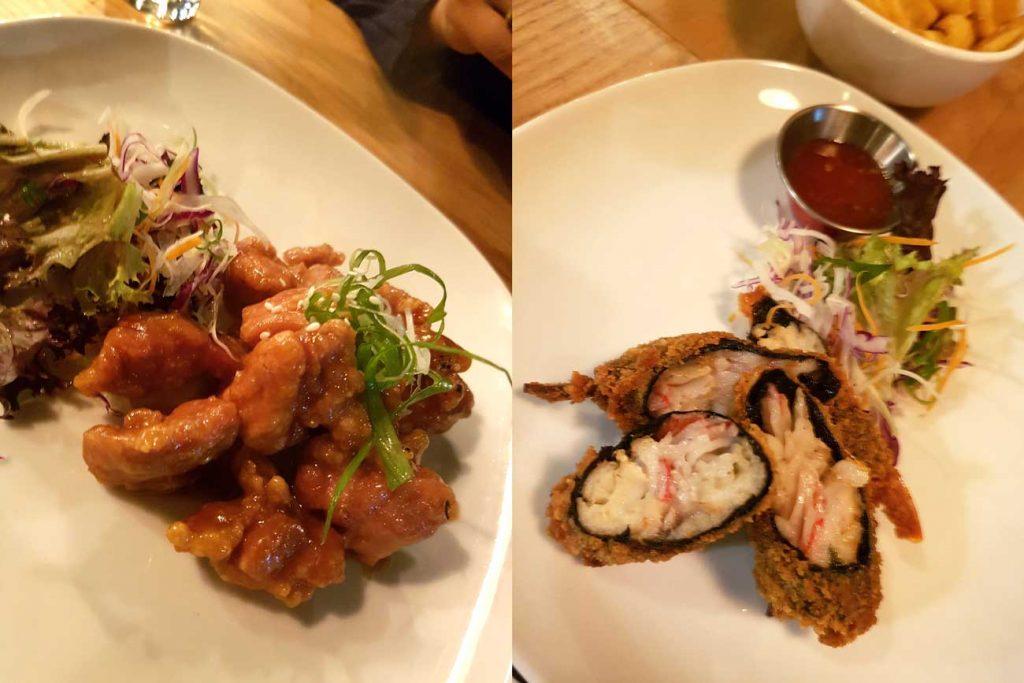 pacana chicken seafood pan asian