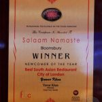 Salaam Namaste Bloomsbury restaurant Halal Curry