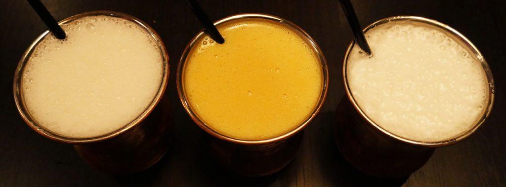 Salaam Namaste Bloomsbury restaurant Halal Curry lassis drinks beverages