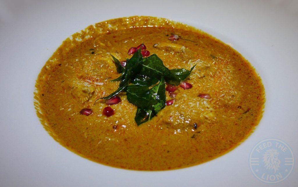 Salaam Namaste Bloomsbury restaurant Halal Curry Chicken