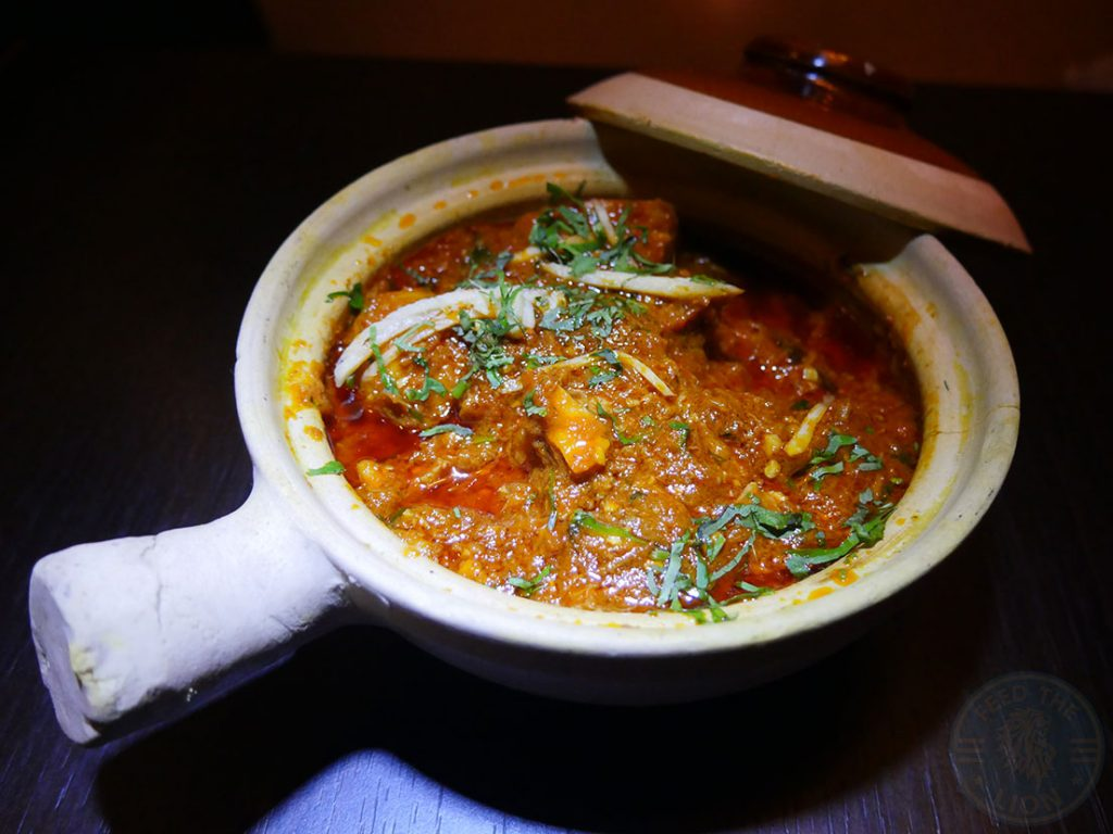 Salaam Namaste Bloomsbury restaurant Halal Curry goat