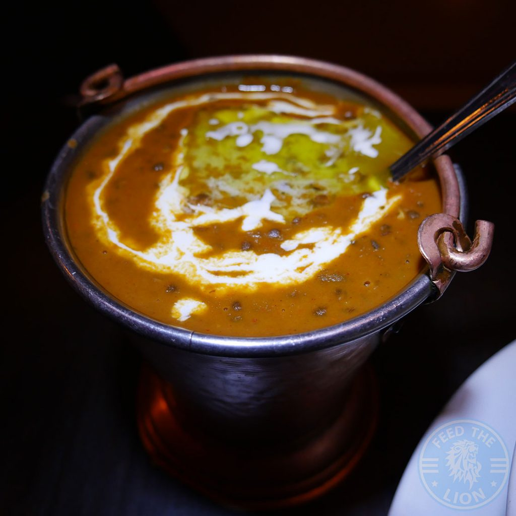 Salaam Namaste Bloomsbury restaurant Halal Curry vegetarian lentils