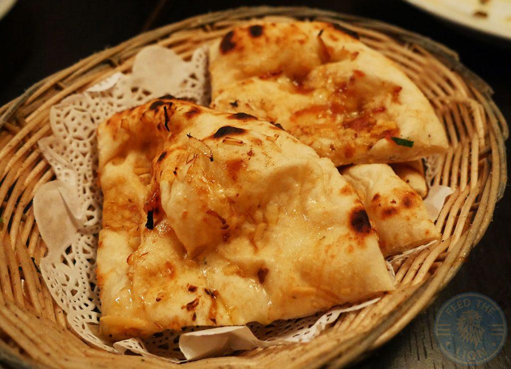 Salaam Namaste Bloomsbury restaurant Halal Curry bread Naan