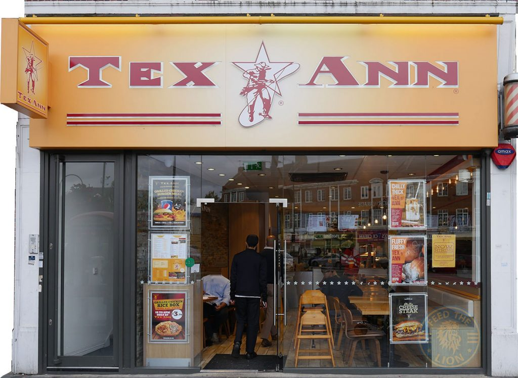 Tex Ann Harrow Halal Burger American