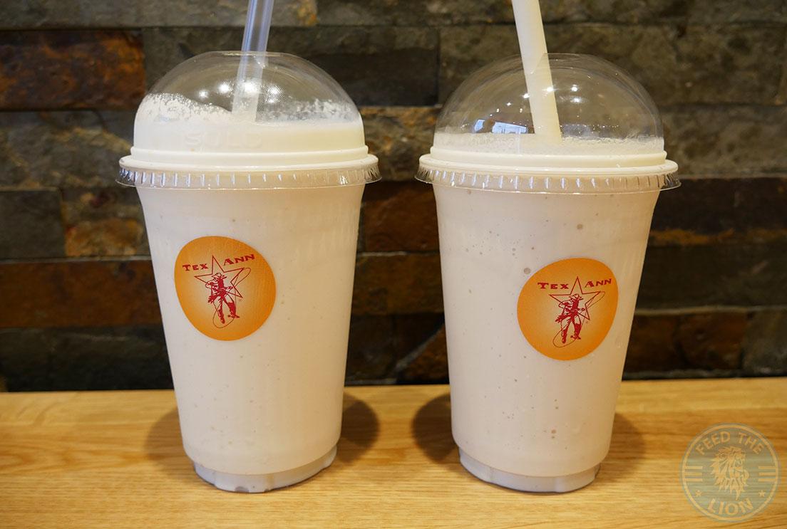 Tex Ann Harrow Halal Burger milkshakes shakes