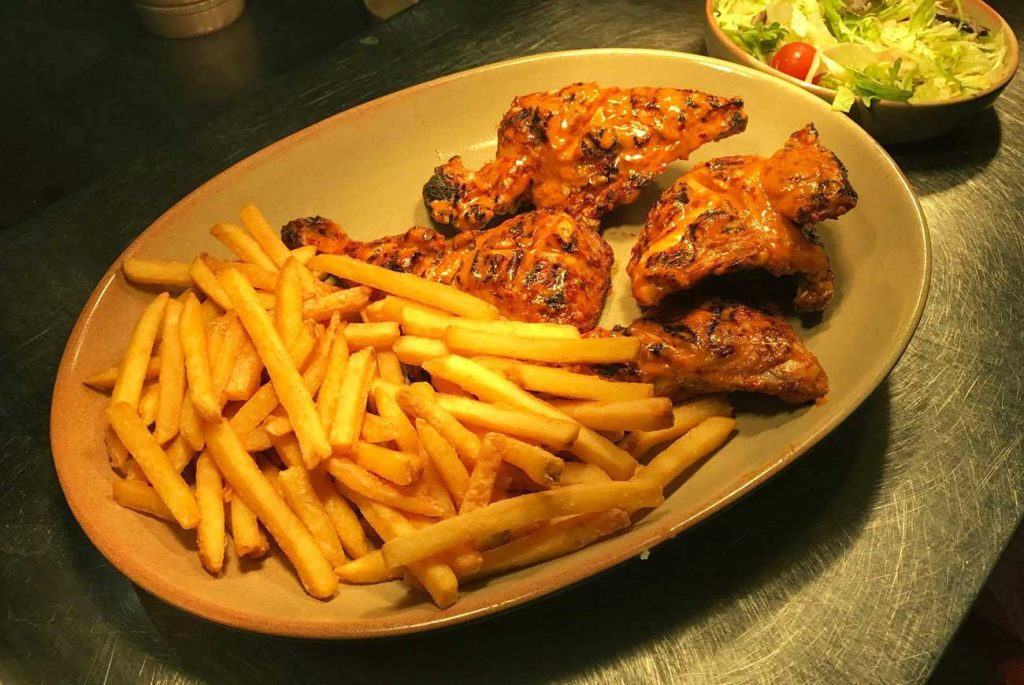 Fernando's Peri Peri Chicken Chips Reading Halal Grilled