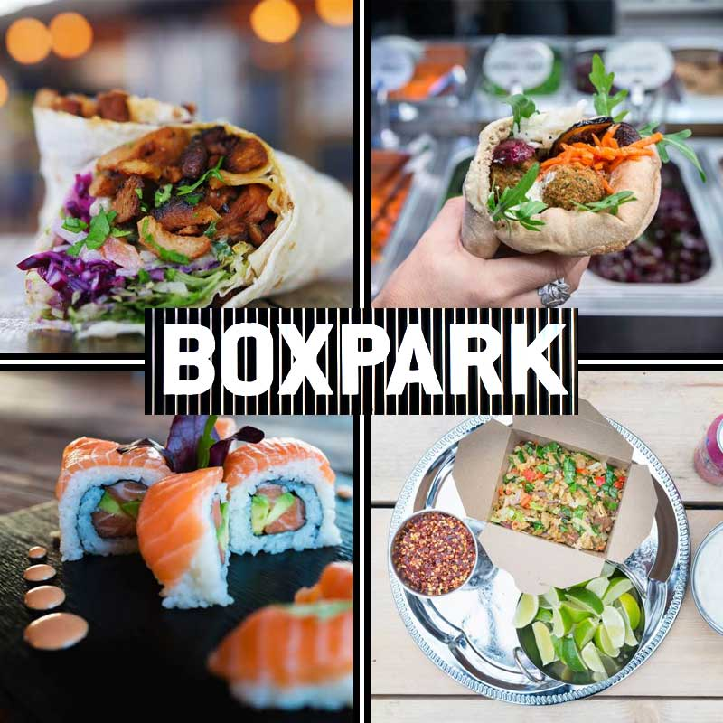 Loads Of Halal Food At Boxpark Croydon Shoreditch Feed