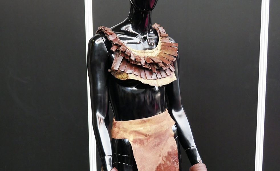 dress The Chocolate Show London Olympia 2017 coco