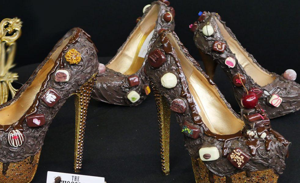 shoe The Chocolate Show London Olympia 2017 coco