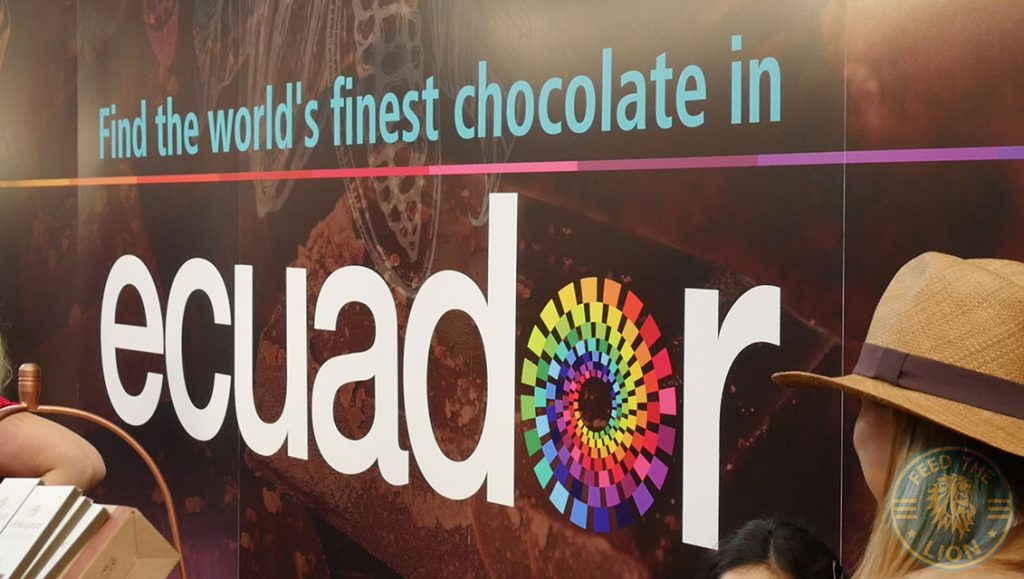 Equador The Chocolate Show London Olympia 2017 coco