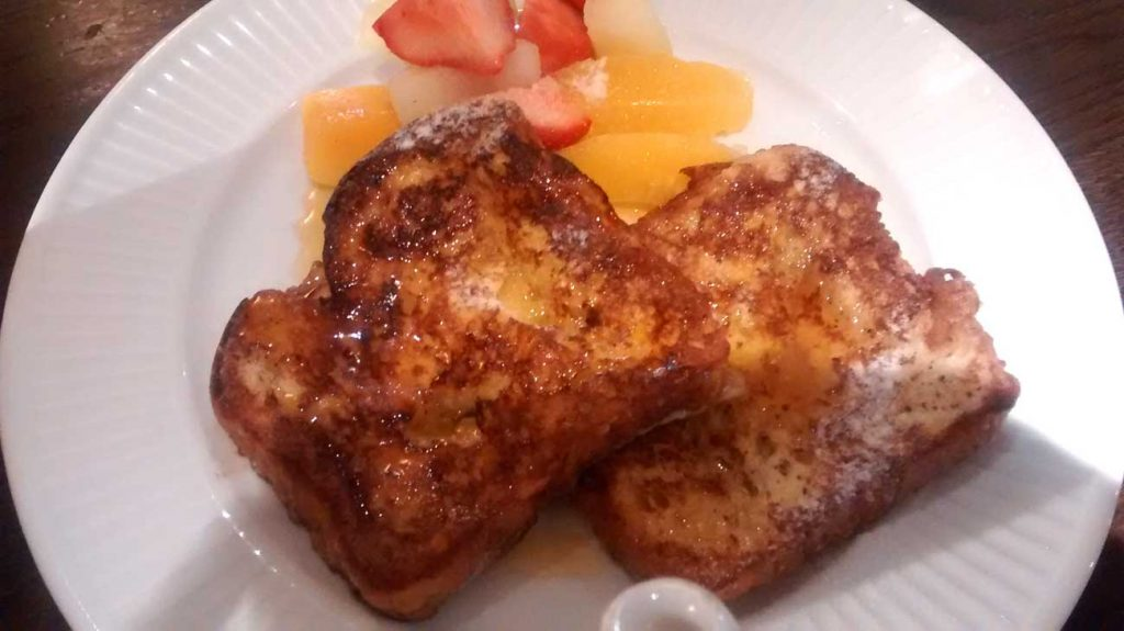cote restaurant ealing breakfast french toast