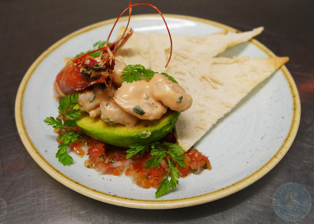 Drunch Regents Park Halal Food Restaurant Prawn Cocktail