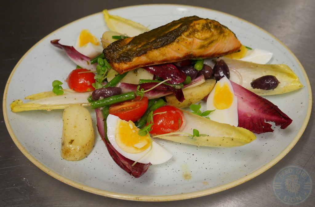 Drunch Regents Park Halal Food Restaurant Salmon