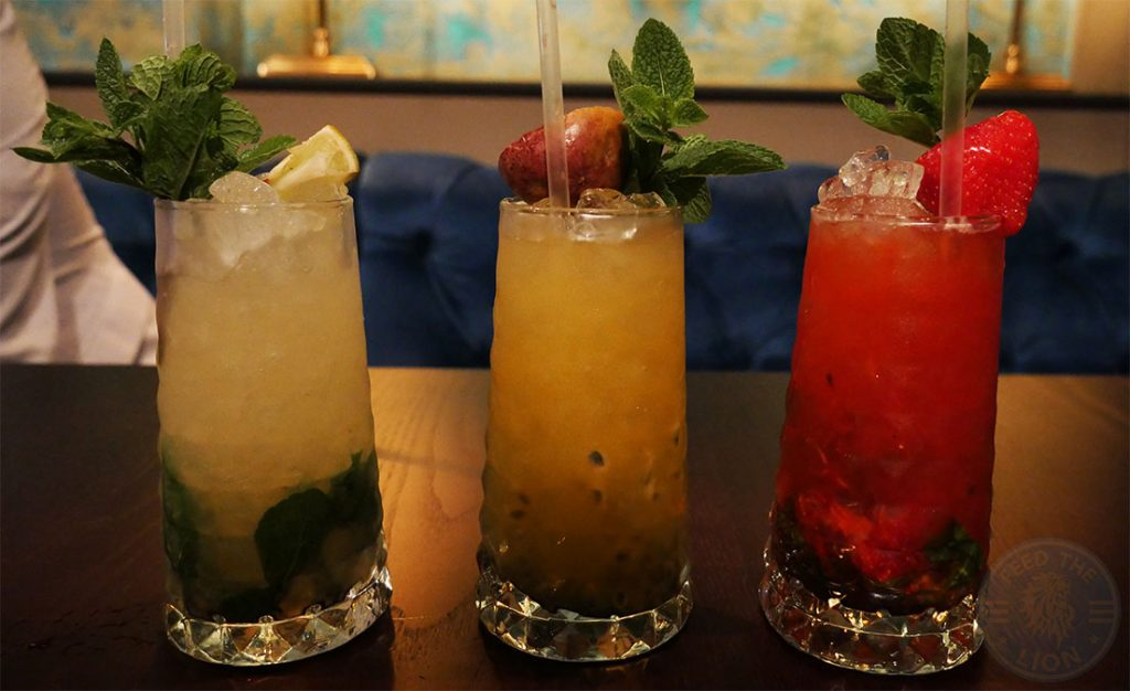 drink Drunch Regents Park Halal Food Restaurant Mojitos
