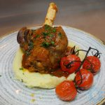 lamb shank Drunch Regents Park Halal Food Restaurant