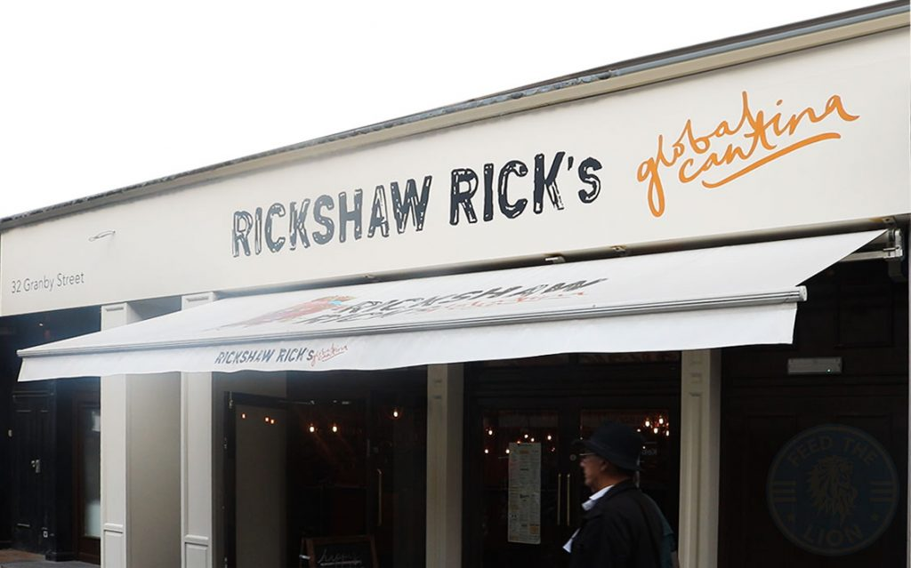 Rickshaw Ricks Halal Leicester Indian Food Restaurant