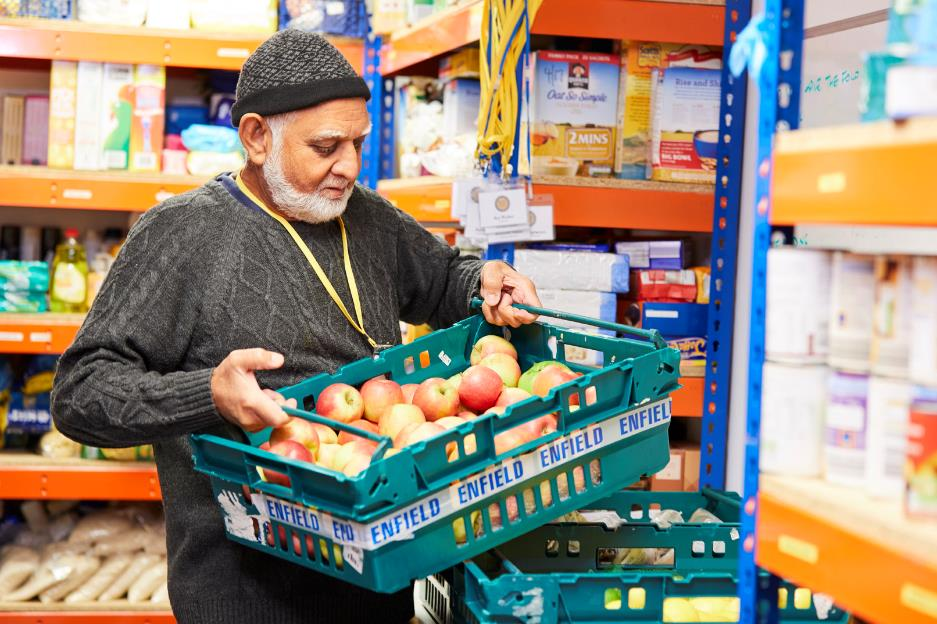 sufra food bank brent london food charity poverty homeless
