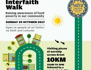 sufra walk flyer food bank kitchen