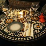 table Zayane Michelin Star Halal Moroccan Notting Hill