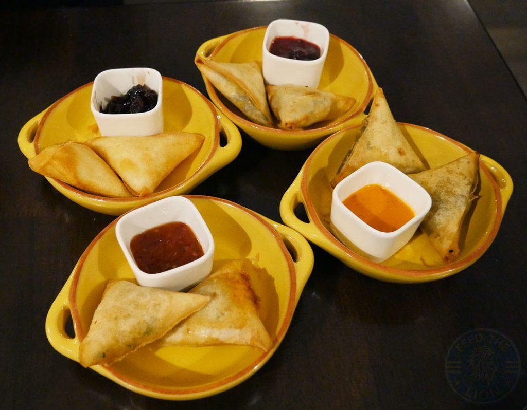 samosa Zayane Michelin Star Halal Moroccan Notting Hill