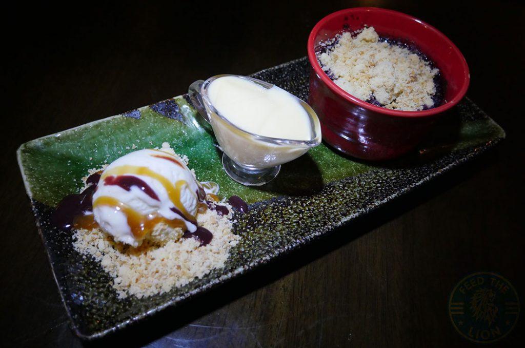 dessert Zayane Michelin Star Halal Moroccan Notting Hill