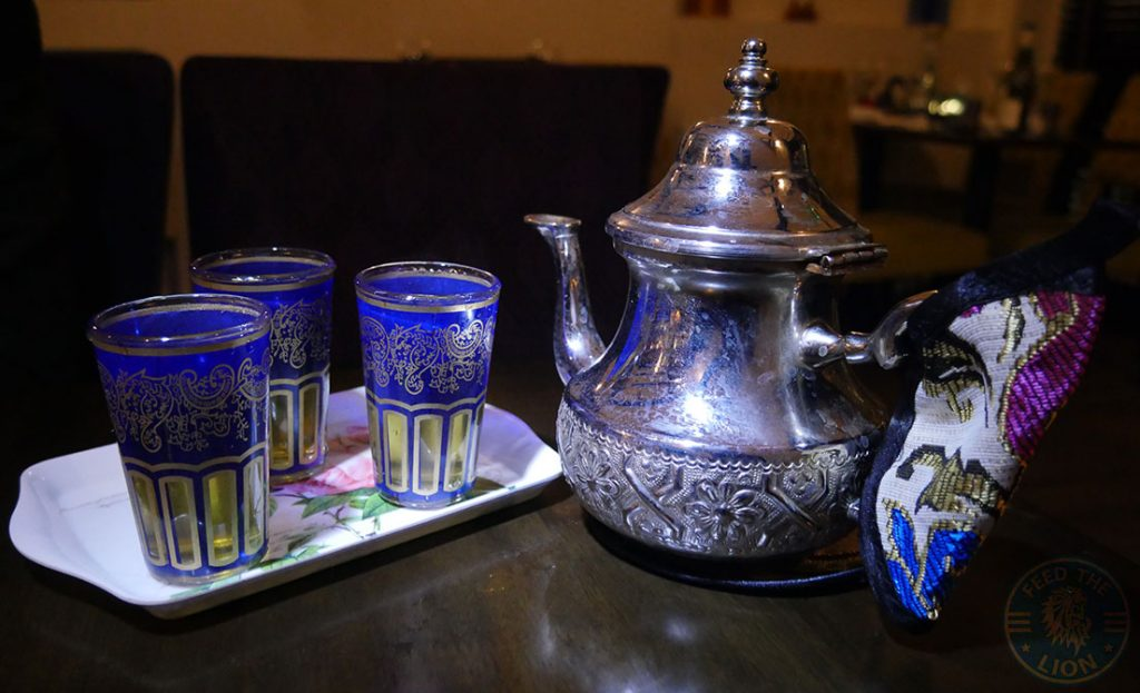 tea Zayane Michelin Star Halal Moroccan Notting Hill