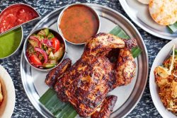 bombay bustle maddox street mayfair roasted chicken