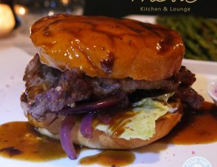 Mesa Kitchen Restaurant Southgate London Halal chocolate dessert burger