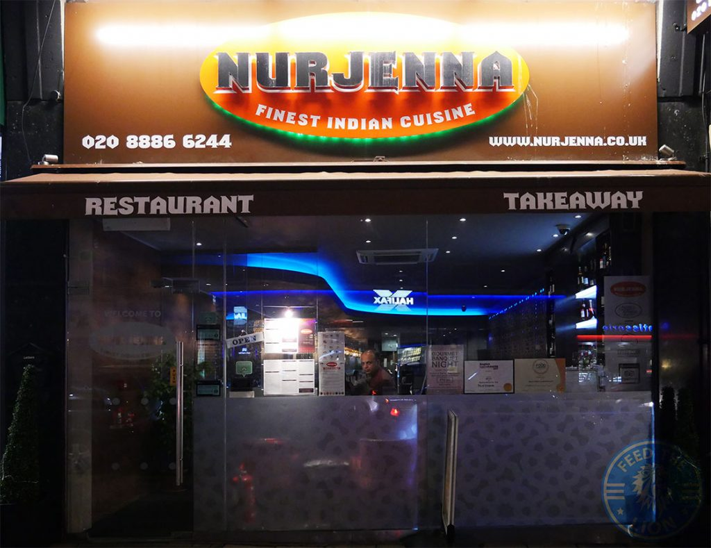 Nurjenna Indian Curry Southgate Halal award London Restaurant