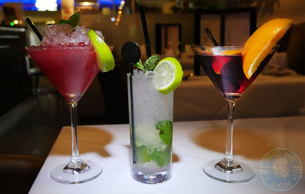 Nurjenna Indian Curry Southgate Halal award London Restaurant Mocktails