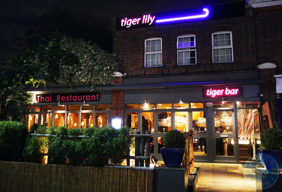 Tiger Lily Thai Restaurant London Osterley Halal