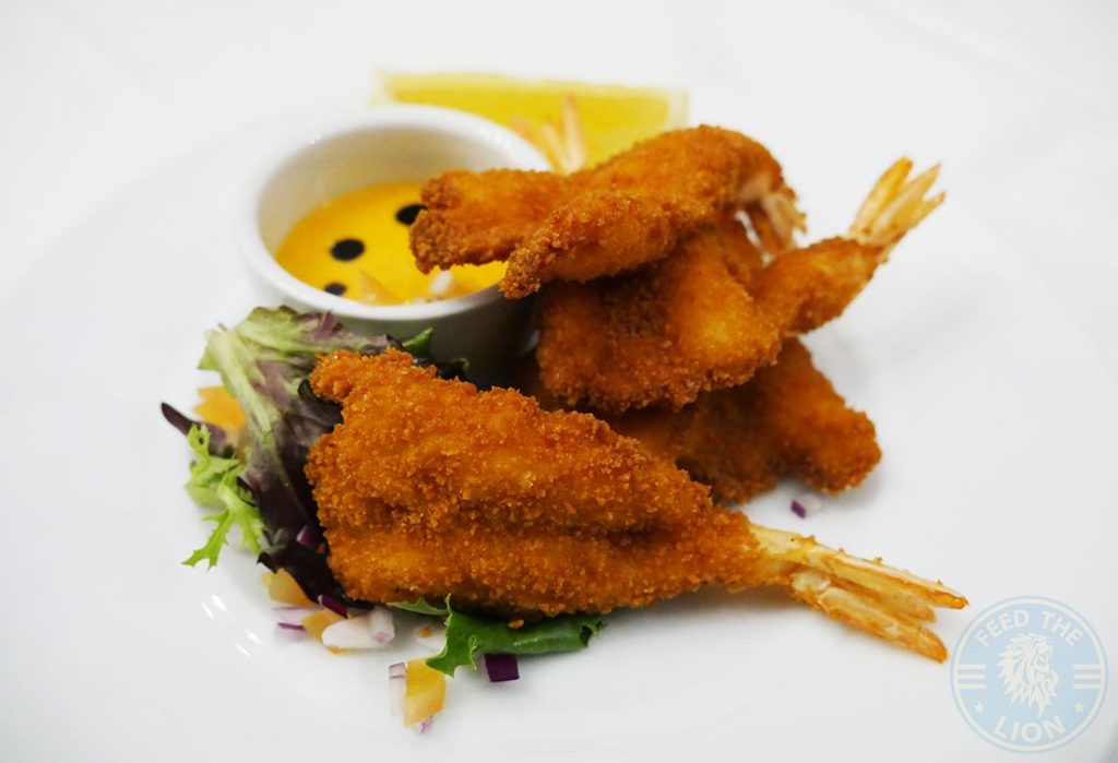 prawn Canary Wharf Docklands Lodge The 2Four4 Lounge 244 Popular Halal London Restaurant