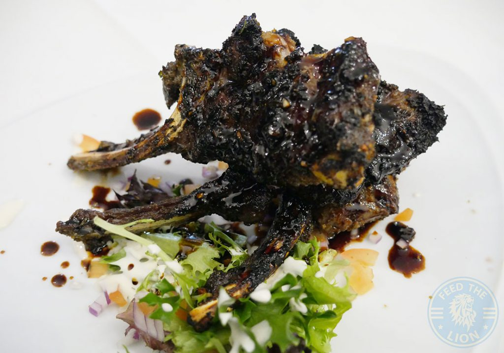 lamb chops Canary Wharf Docklands Lodge The 2Four4 Lounge 244 Popular Halal London Restaurant