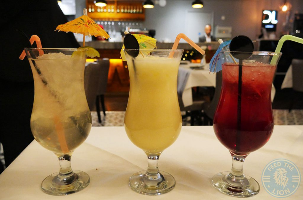 mocktail Canary Wharf Docklands Lodge The 2Four4 Lounge 244 Popular Halal London Restaurant
