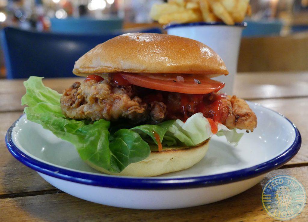 burger The Chicken Shop Halal Rotisserie Ealing Broadway Restaurant