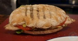sandwich burger The Chicken Shop Halal Rotisserie Ealing Broadway Restaurant