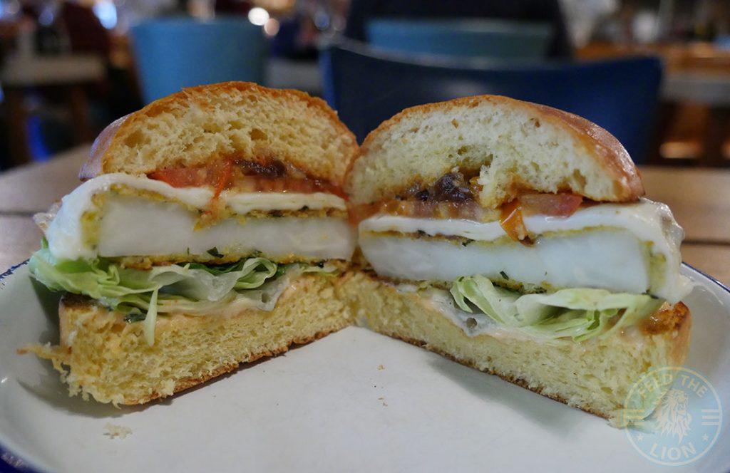 burger veggie The Chicken Shop Halal Rotisserie Ealing Broadway Restaurant