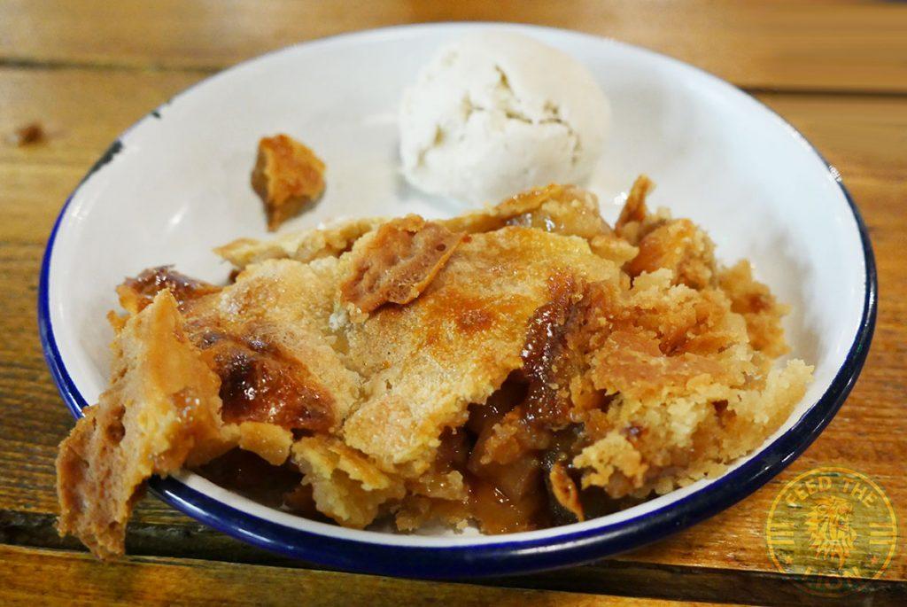 Apple Pie The Chicken Shop Halal Rotisserie Ealing Broadway Restaurant Dessert