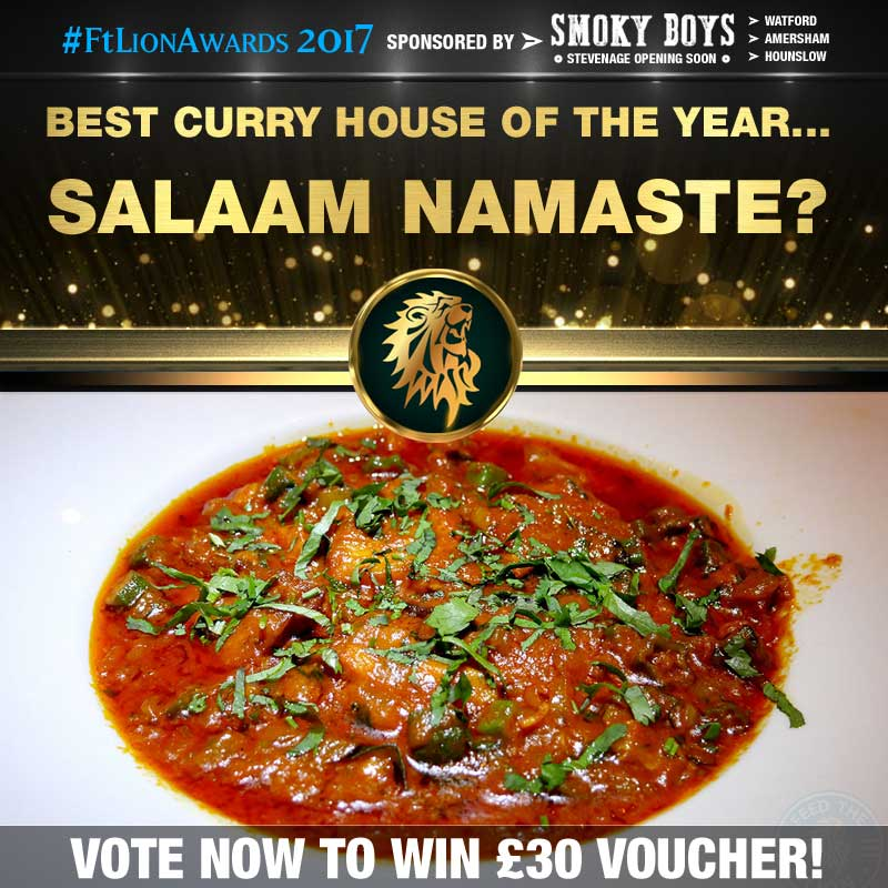 Curry House, Curry, best of, top 5, salaam namaste Bloomsbury