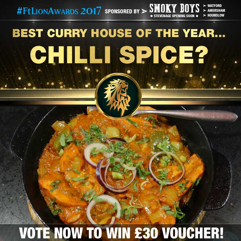 Curry House, Curry, best of, top 5, Chilli Spice, Camberley