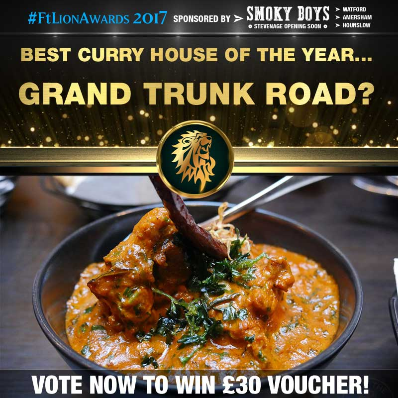Curry House, Curry, best of, top 5, Grand Trunk Road, South Woodford