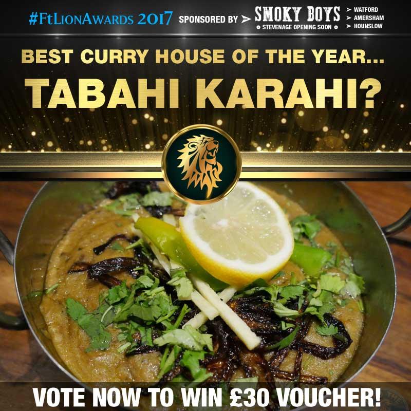 Curry House, Curry, best of, top 5, Tabahi Karahi, hounslow, london