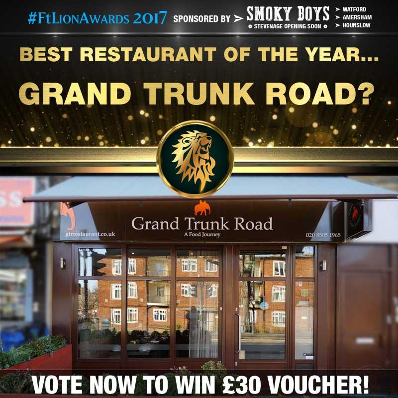 restaurants, best of, top 5, london, grand trunk road, south woodford