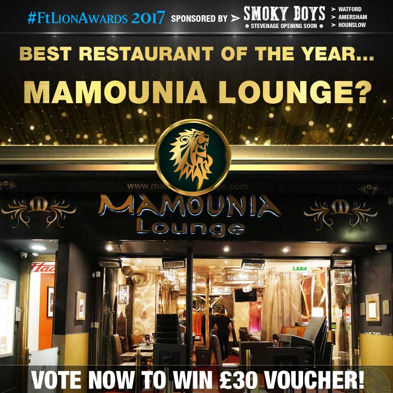 restaurants, best of, top 5, london, mamounia lounge, knightsbridge